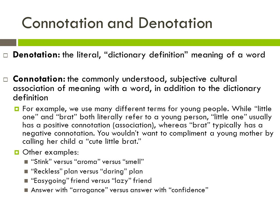 denotative connotative essay The denotative meaning of the word can be in  connotative meaning is individual made and depends on the  please do not submit this sample essay as your own.