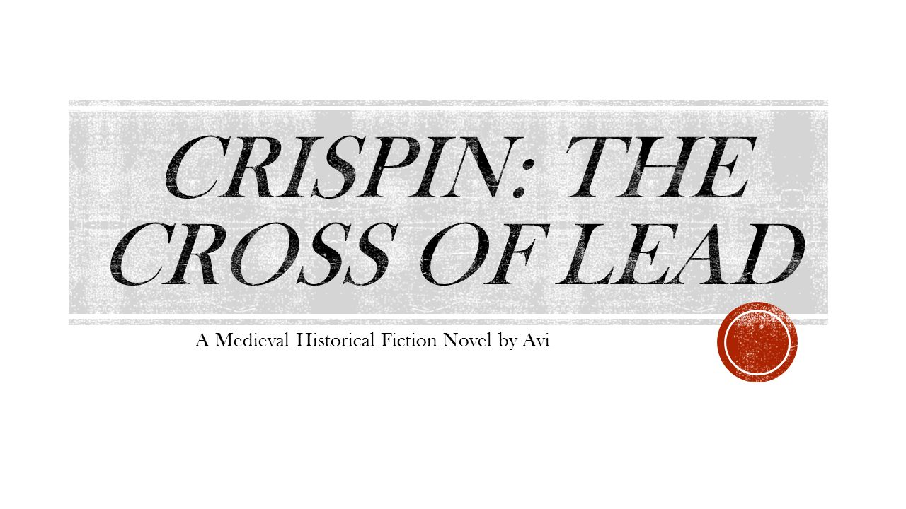 Crispin The Cross Of Lead Characters