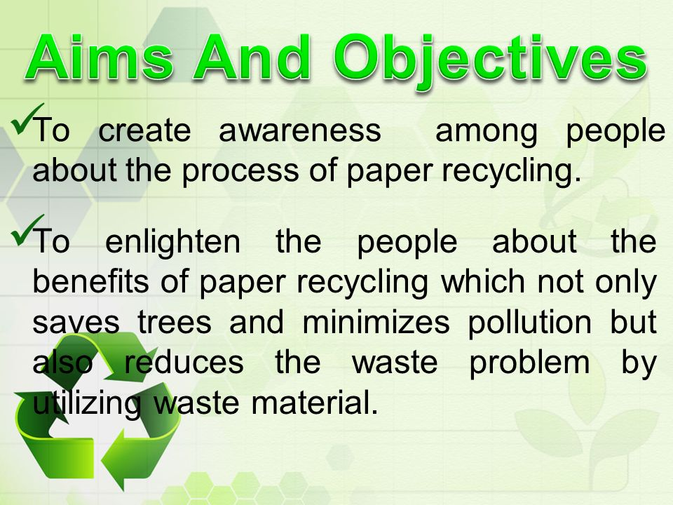 aims and objectives of effects of pollution They tend to pinpoint your research's more immediate effects additionally, the objectives include an outline of  aims and objectives of a research proposal.