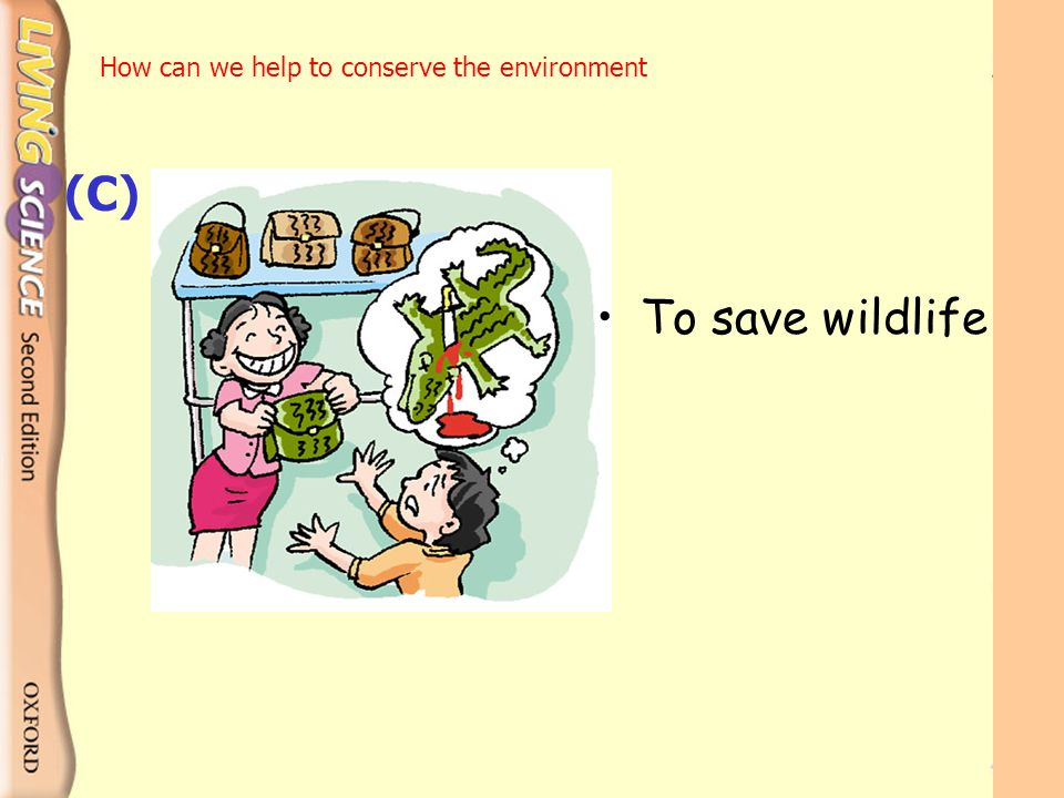 how can we save wildlife We have a responsibility to protect our nation's wildlife, birds, fish and plants on the brink of extinction we pledge to do these 10 things at home to protect endangered species pick one or two to start with today and do the rest throughout the year.