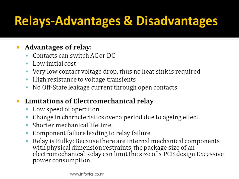 Introduction To Electronics Ppt Download - Relay Contact Voltage Drop