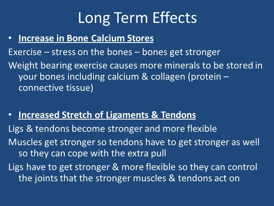 long term effects of exercise Full-text paper (pdf): long-term effects of exercise and physical therapy in  people with parkinson disease.