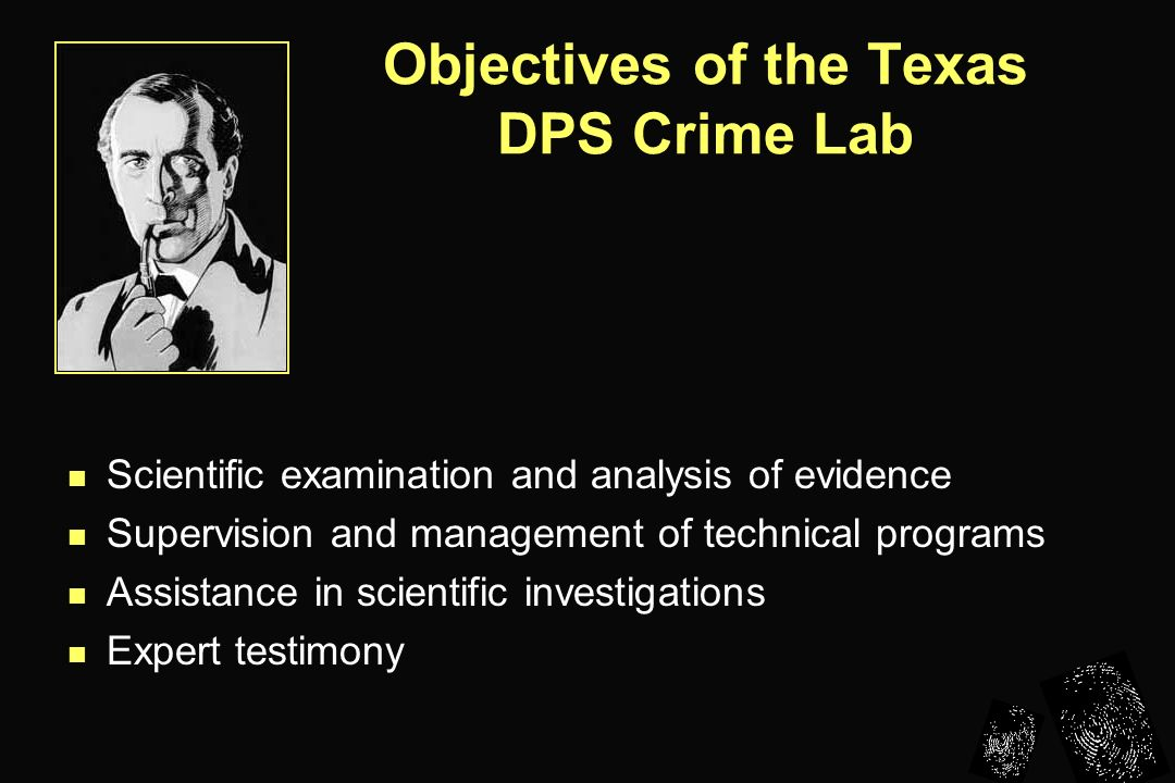 Scientific management in law enforcement