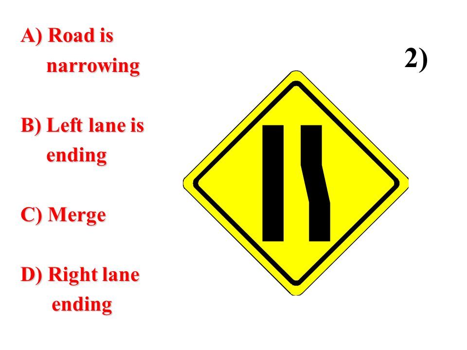 warning and regulatory signs quiz 2 ppt video online