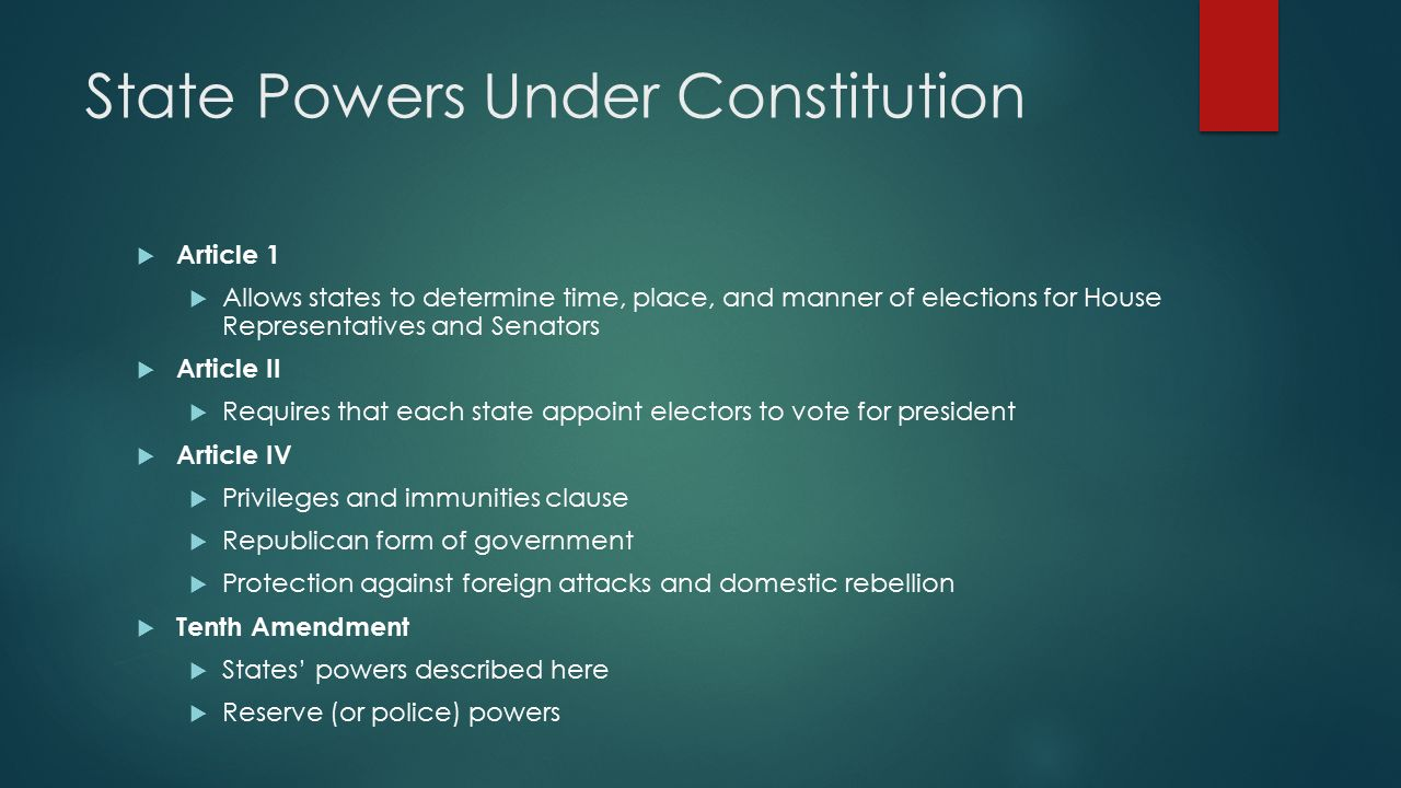 Federalism. - ppt download