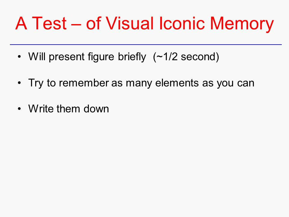 The Human Processing and Memory - ppt download
