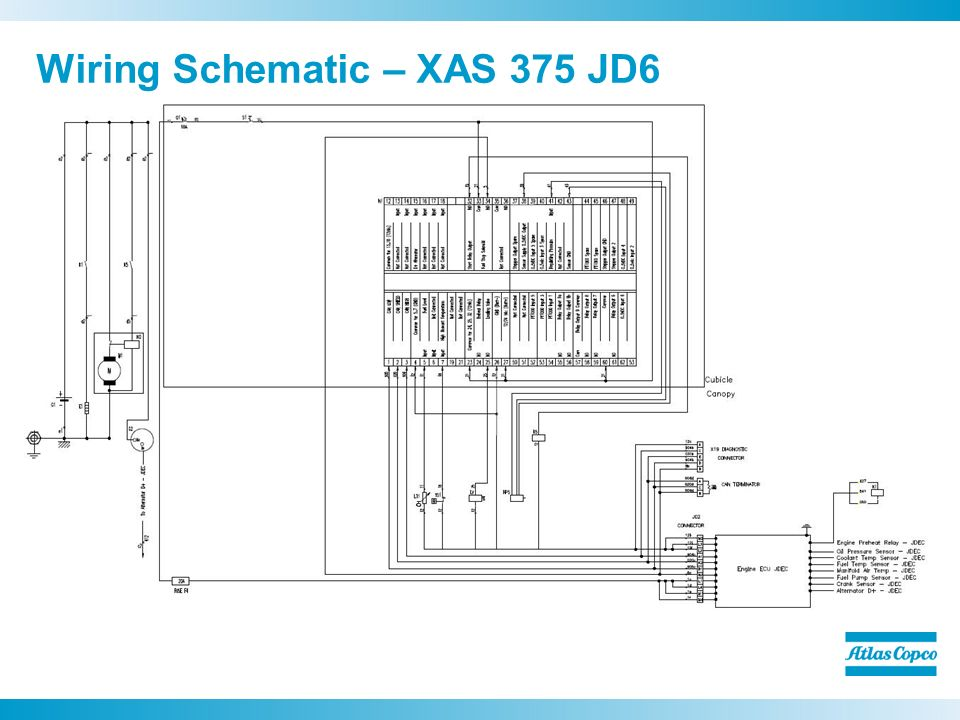 Wiring Schematic %E2%80%93 XAS 375 JD6 atlas copco wiring diagram pictures to pin on pinterest thepinsta atlas copco xas 96 wiring diagram at mifinder.co