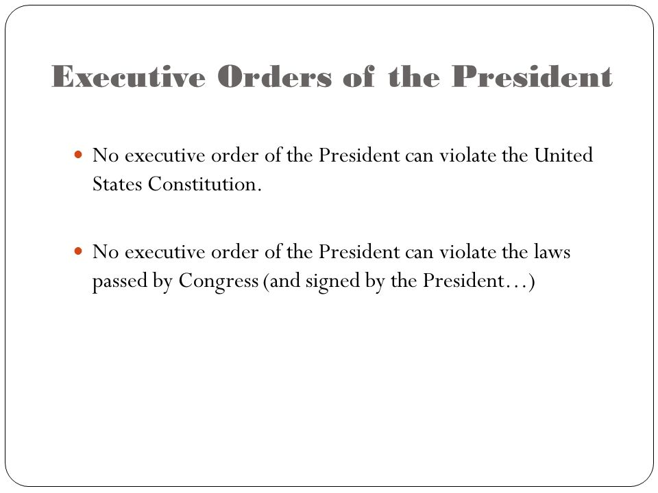 a look at the executive order of the president of the united states How to contact the president of the united states to look for your letter and addresses given in order to write to president elect.