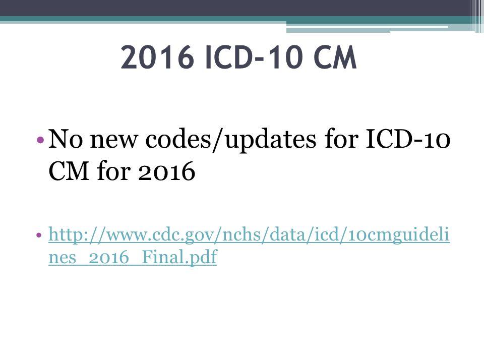 Icd-10 effective date in Brisbane
