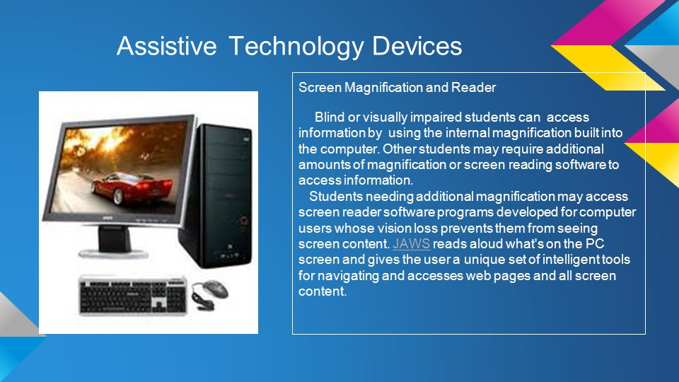 Assistive Technology Ppt Download