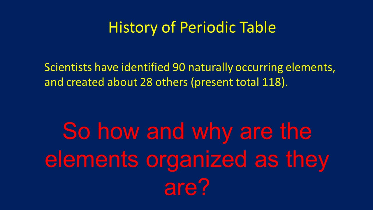 Introduction to the periodic table ppt download 7 so gamestrikefo Images