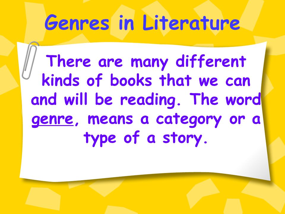 how to find the genre of a book
