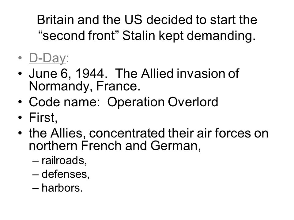 an analysis of the allied invasion of france on june 6 1944 Normandy invasion during wwii, the allied invasion of northwest europe codenamed operation overlord which started on d-day and ended on 25 august 1944  normandy invasion - june - august 1944 - wwii this page was updated on: sunday, december 10,  tuesday june 6, 1944 at 630am they ended on june 30, 1944.