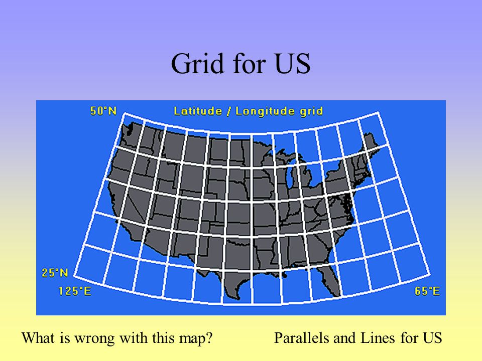 US States Latitude And Longitude Public Land Survey System - 40th parallel us map