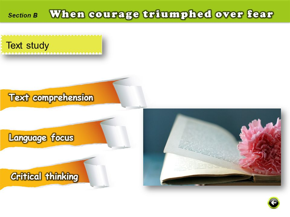 When courage triumphed over fear