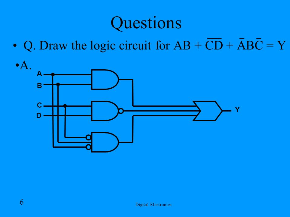 Funky Draw Logic Gates Online Collection - Electrical Circuit ...