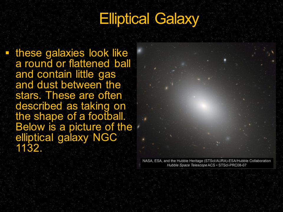 elliptical galaxies football shaped - photo #4