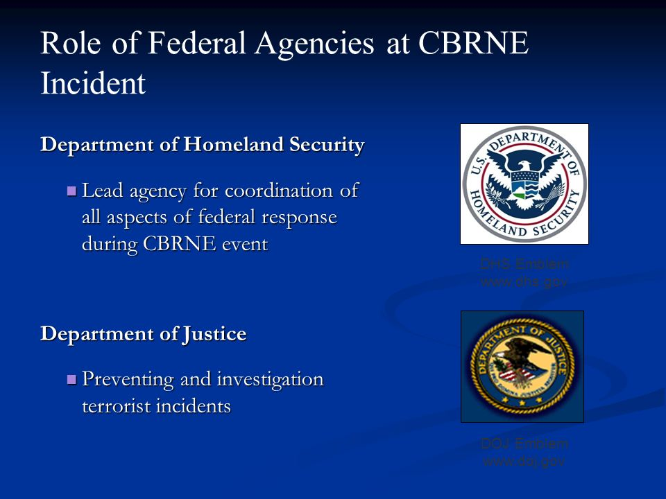 the role of the department of homeland Homeland security presidential directive-7 (hspd-7), critical infrastructure identification, prioritization and protection, assigns responsibilities to the department of defensethe dod has two roles for critical infrastructure protection, first as a federal department and second as a sector-specific agency for one of seventeen national infrastructure sectors-the defense industrial base.
