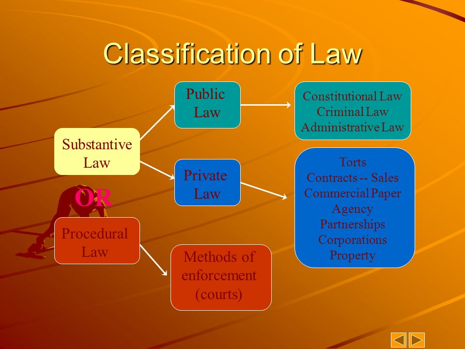 substantive and procedural law relationship advice