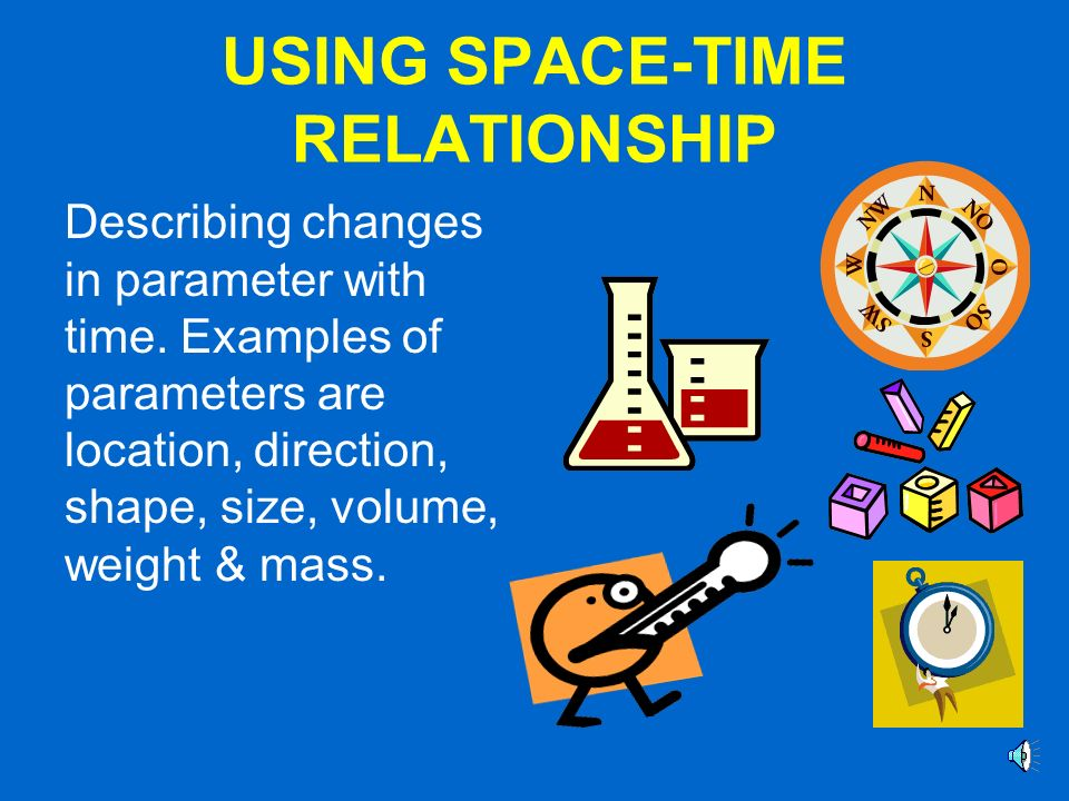 USING SPACE-TIME RELATIONSHIP