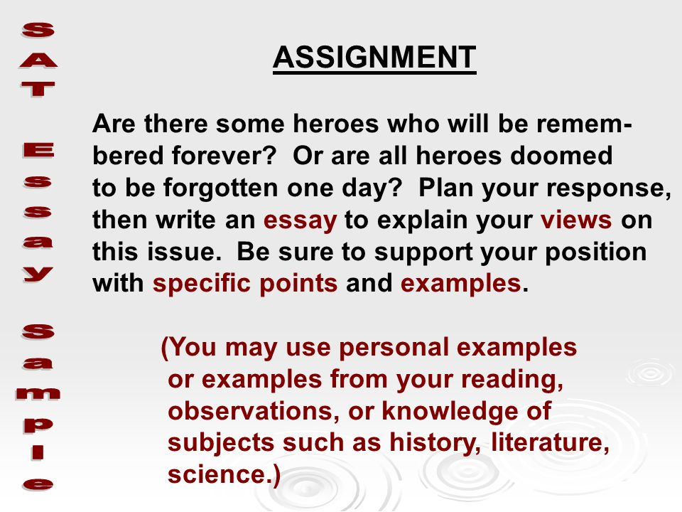 essay on heroes essay Writing assignment #1: hero essay assignment assignment summary: a hero is someone we look up to or admire because of his or.