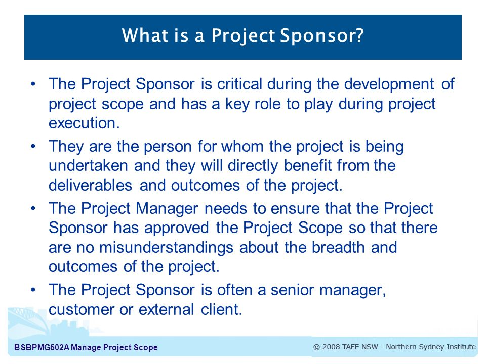 explain the scope and feasibility of the project Briefly describe the background of the project and watershed,  establish the  scope, budget, and schedule associated with successful.