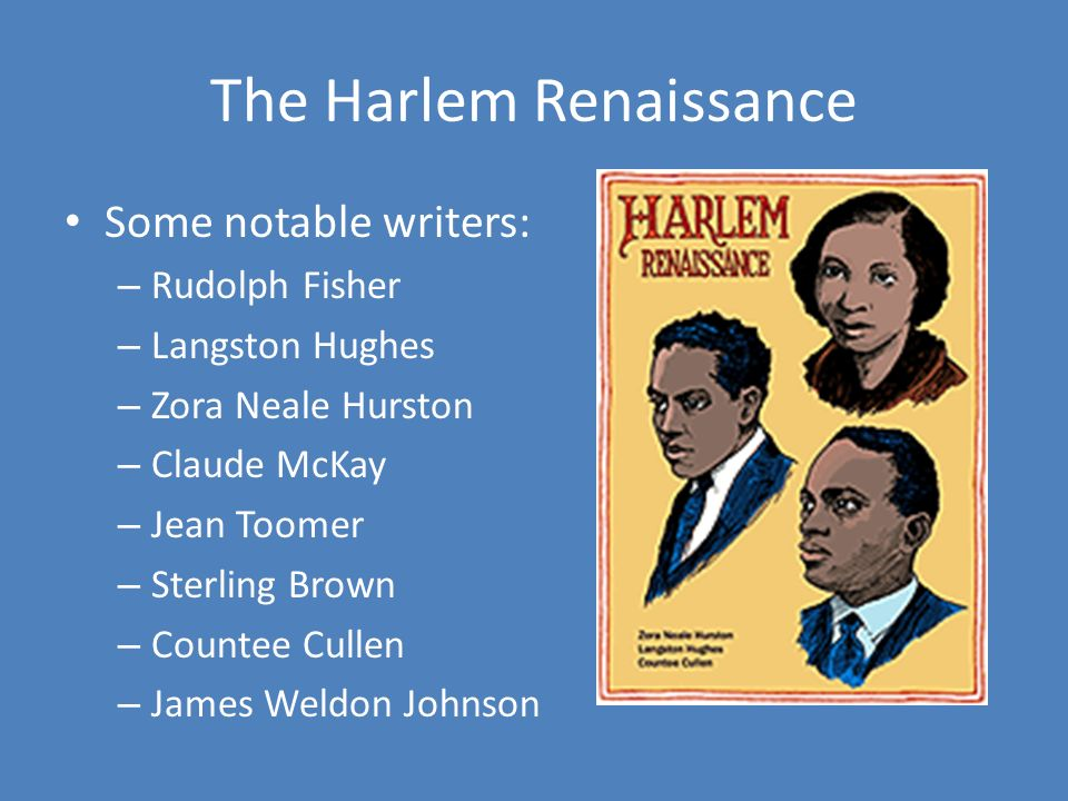 langston hughes and the harlem renaissance The harlem renaissance and and art was produced during the era between the world wars that it is now known as the harlem renaissance langston hughes was one of.
