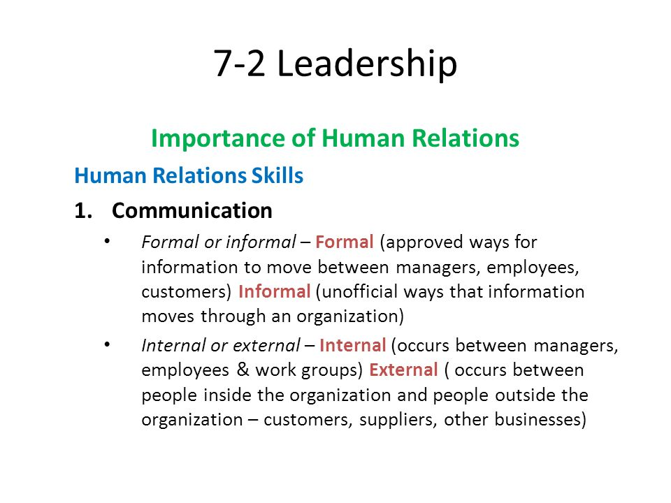 What is the importance of employer-employee relationship in the organization?