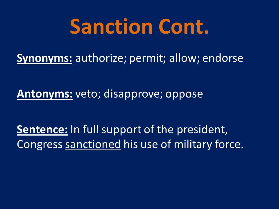 how to use veto in a sentence
