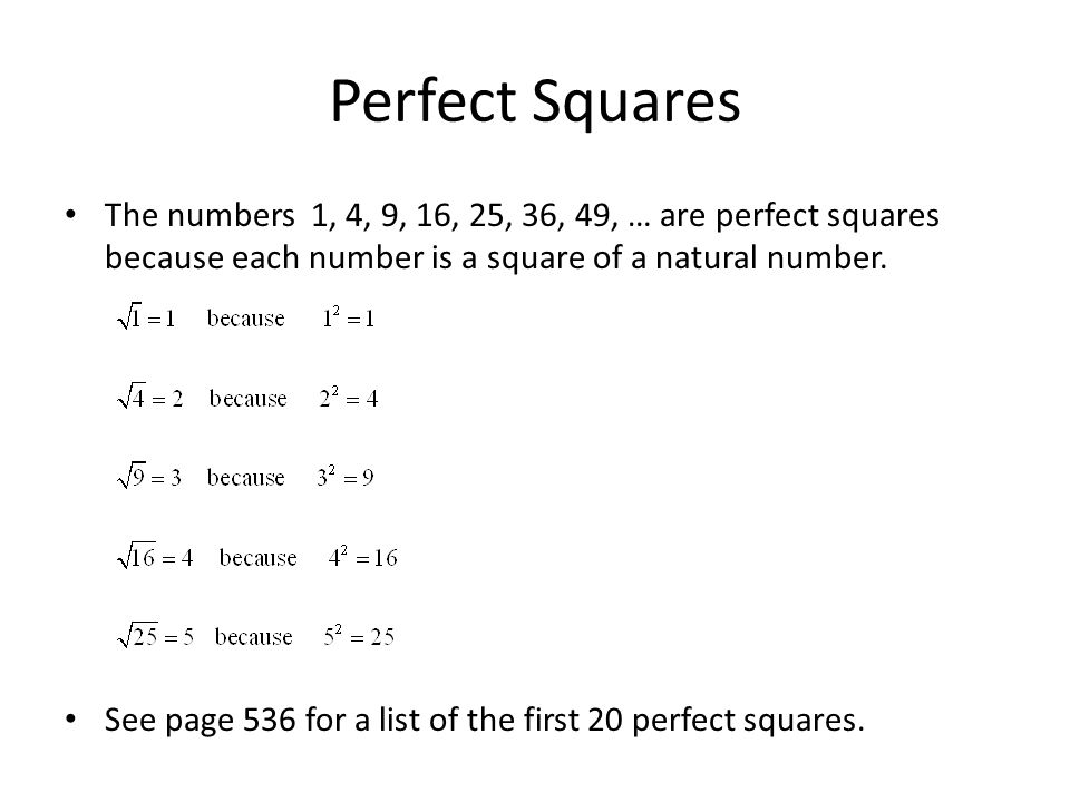 Review Square Root Rules - ppt video online download
