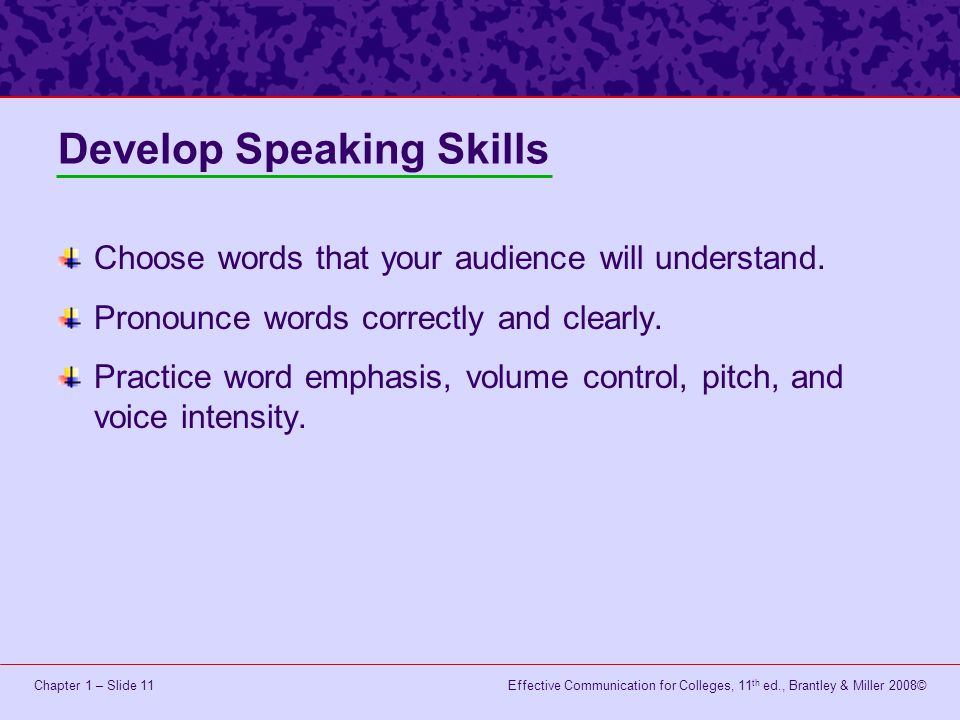 how to develop speaking skills pdf