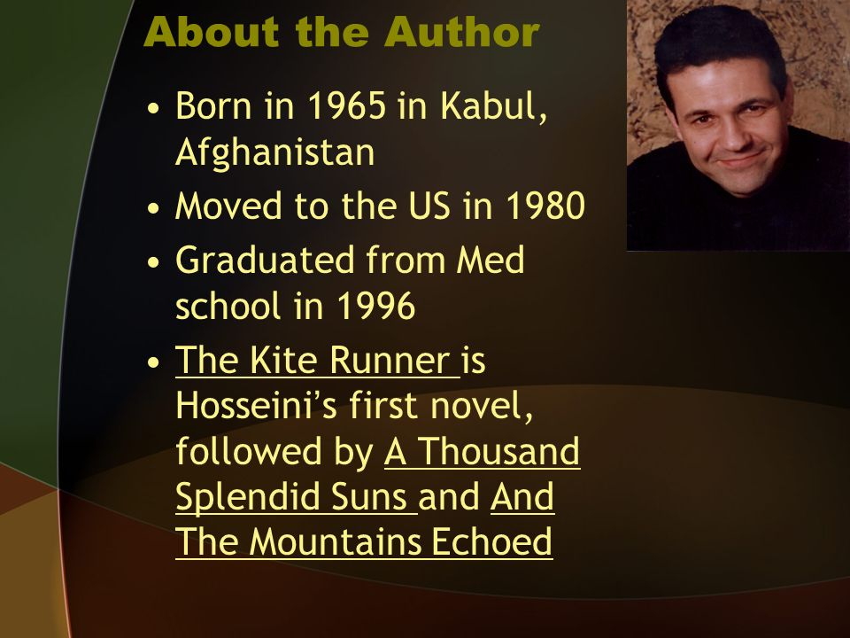 an analysis of plot development in the kite runner by khaled hosseini The kite runner essay analyzes the story of it, which has been focused on the love between a father and a son, guilt and redemption however, while writing the kite runner essays, these attributes have been considered as core areas to be focused upon.