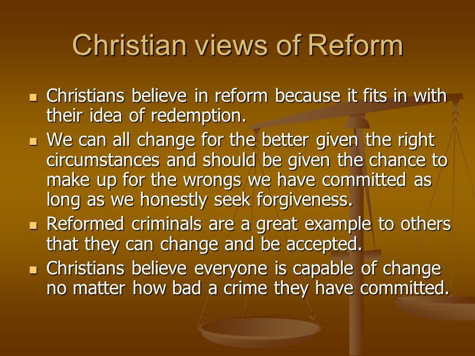 Christian views of Reform