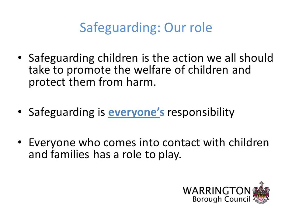 a safeguarding the welfare of children Understanding safeguarding, protection and welfare of children is essential for all working in early years cache certification available on this course also.