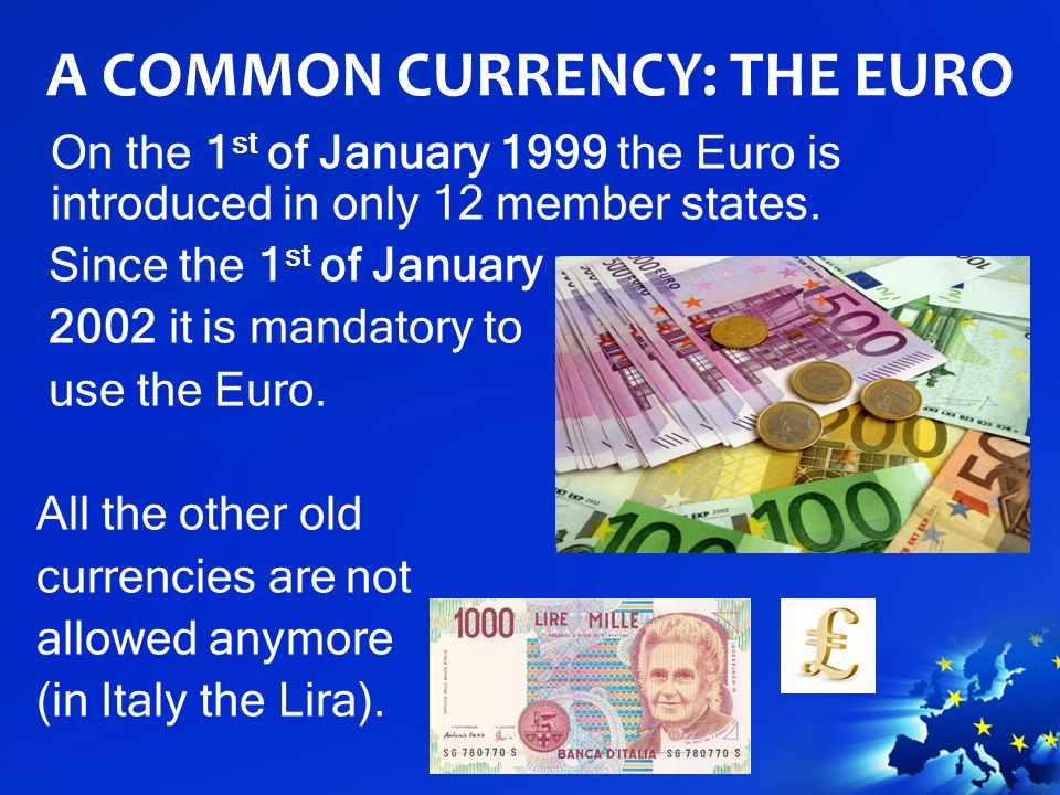 The Euro A Common Currency
