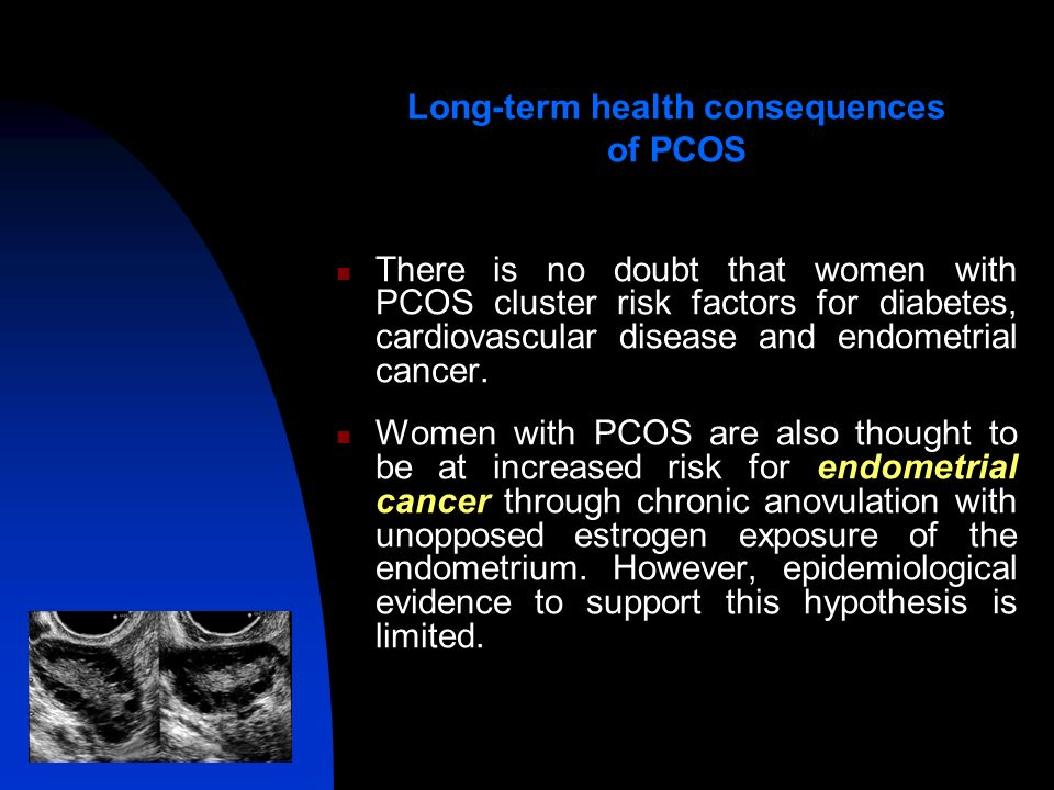 Long term affects of unopposed estrogen