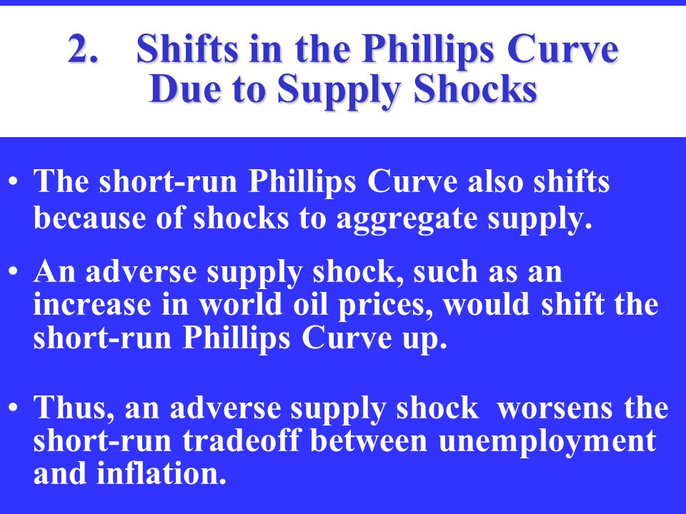 aggregate supply and the short run tradeoff Aggregate supply curve and short-run phillip curve •in aggregate supply curve, the money wage is fixed •when the price level rises the short-run policy tradeoff.