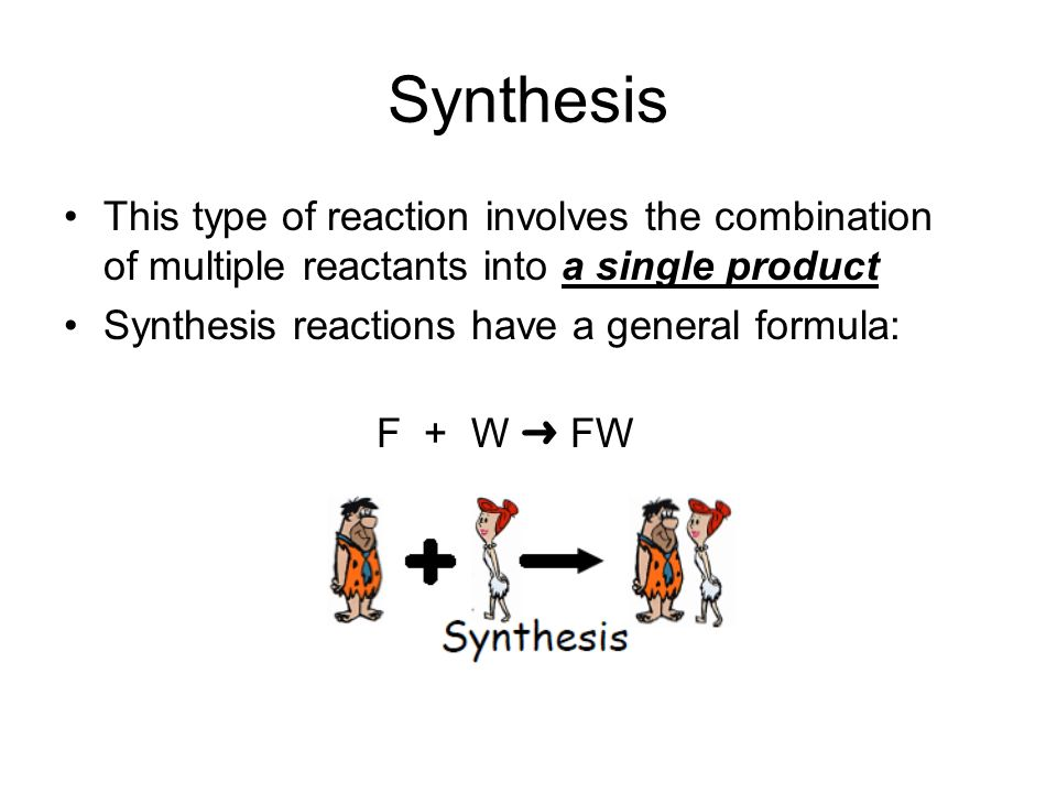 Types of Chemical Reactions ppt download – Synthesis Reactions Worksheet