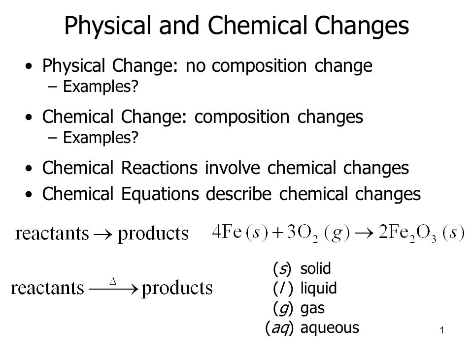 4-5 chemical reactions examples | salescv. Info.