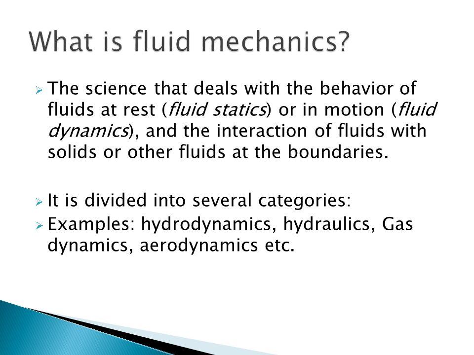 Fluid Dynamics Problem – HD Wallpapers