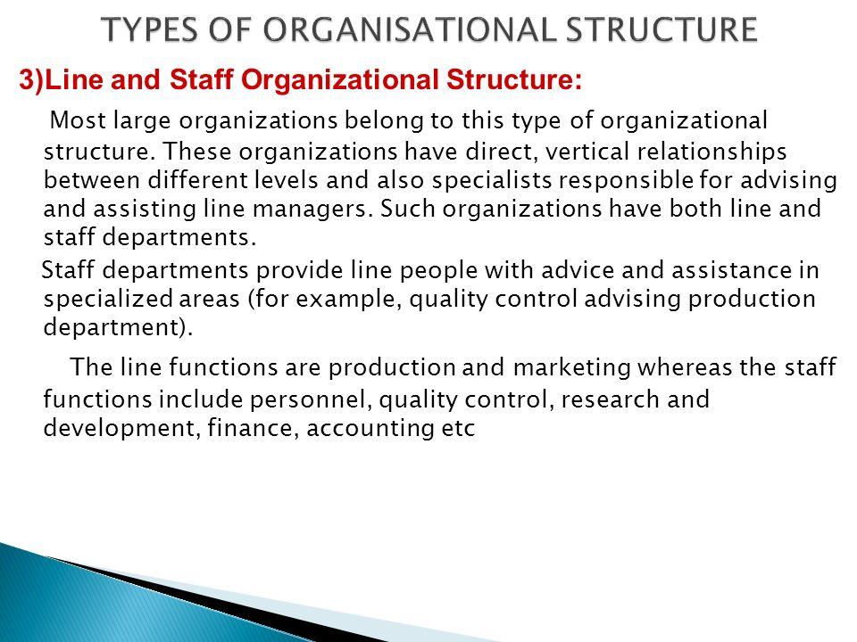 types and functions of organizational structures Interpretation of organizational structures types classification, taking into account  the  management functions in certain type of organizational structure.