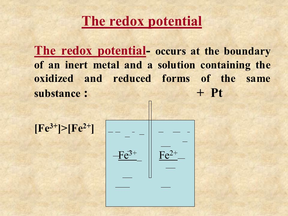 the electrod and redox potentiials ppt download. Black Bedroom Furniture Sets. Home Design Ideas