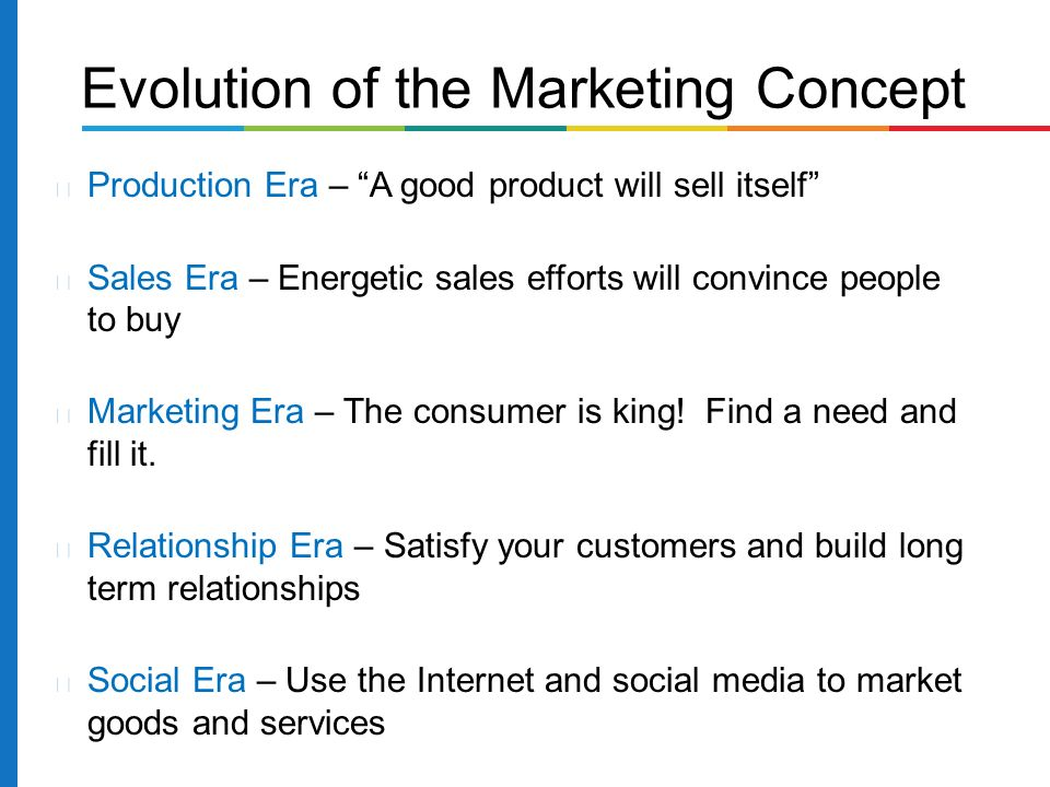 marketing and customer relationship concept