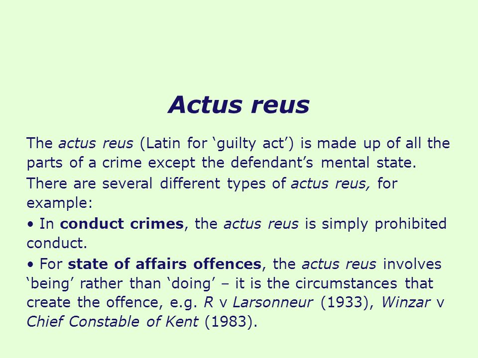 what are the types of crimes pdf