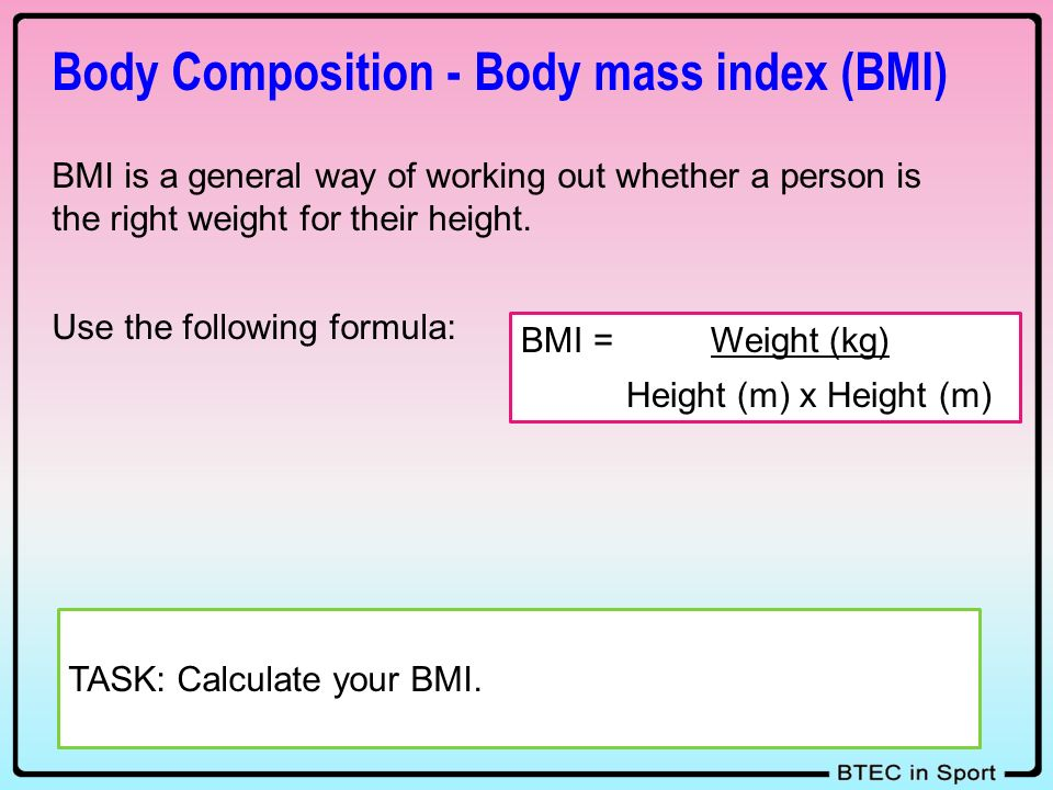 body mass index essay Longtime austin, tx personal trainer andy bruchey discusses the relevance of bmi (body mass index) and your health call andy at 512-484-2270 to learn more.