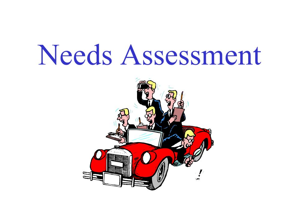 Needs Assessment  Ppt Download