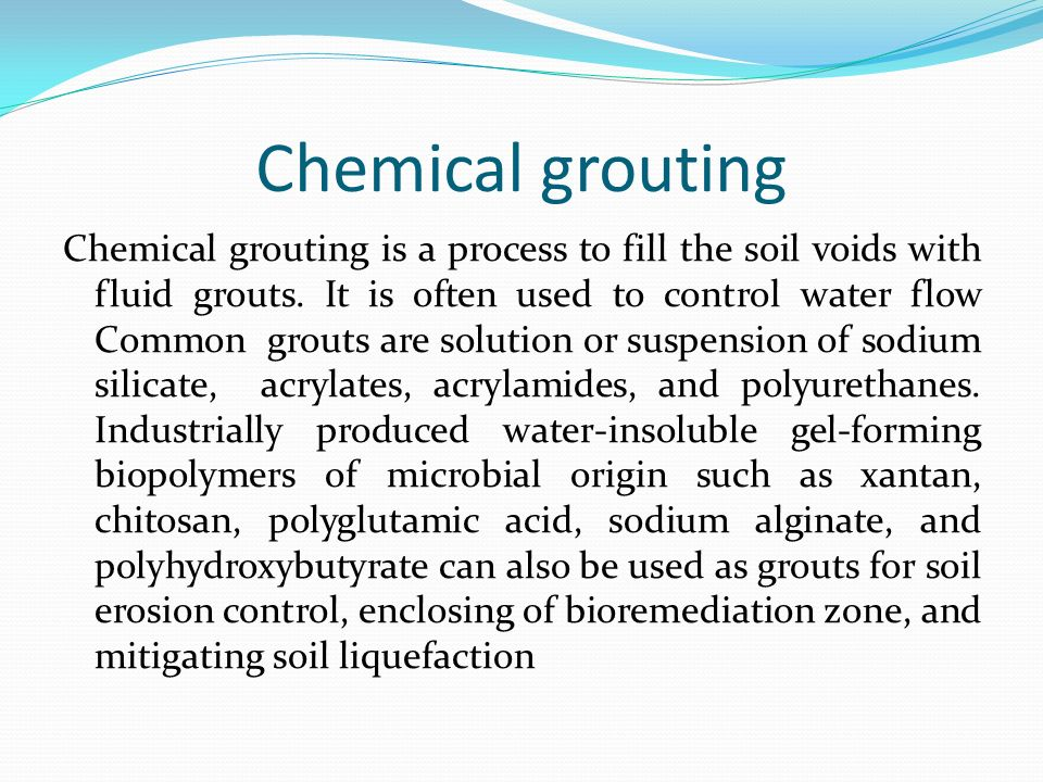 Microbial diversity and its application ppt download for Soil grouting