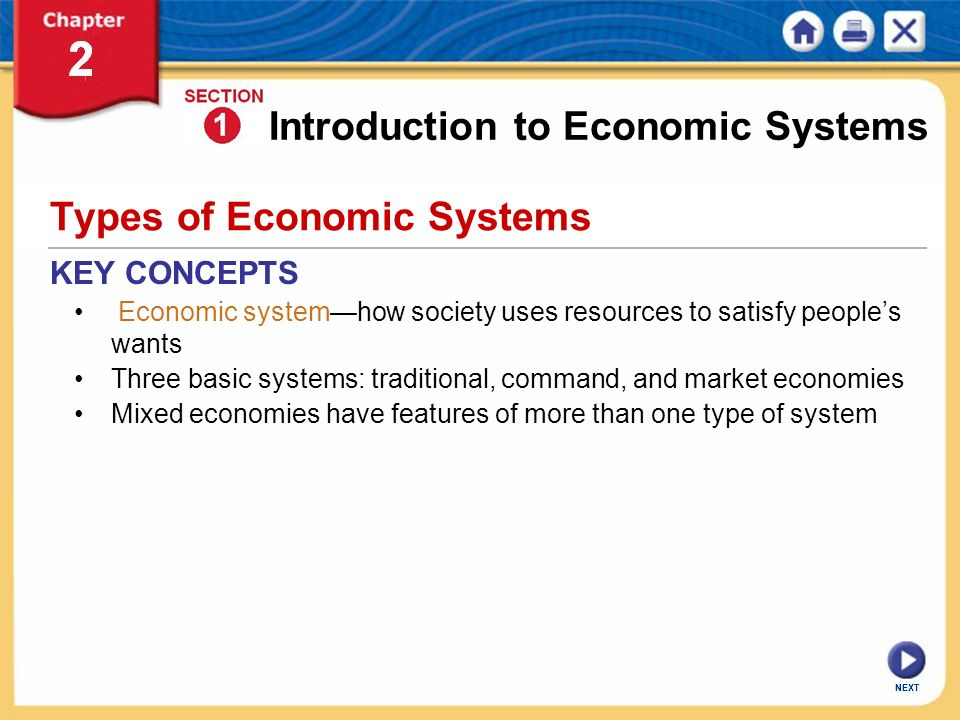 three main types of economic systems economics essay Under this system there is freedom of economic activities and government interferences for mixed economy has following main features types of mixed economy:.