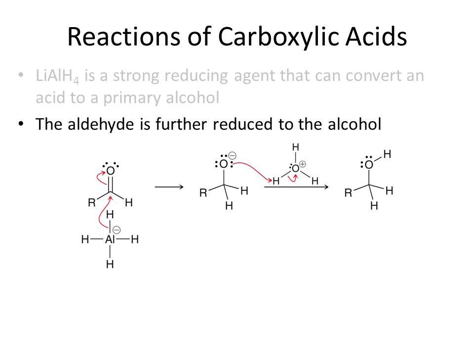 separation of a carboxylic acid a Note that the carboxylic acid has a lower pka than the conjugate acid of bicarbonate ion (carbonic acid) the reaction, therefore, proceeds to products the reaction of a phenol, however, favors the reactants since the pka of phenol (10) is larger than that of the carbonic acid (64.