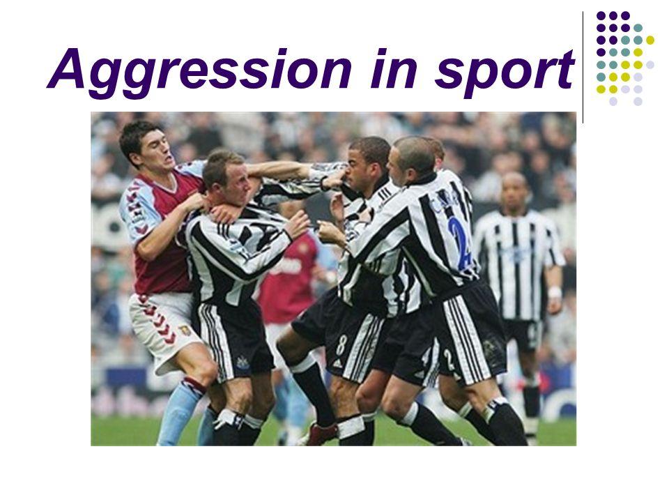 sport aggression essays